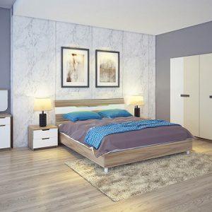 Bộ giường tủ Hòa phát GN303