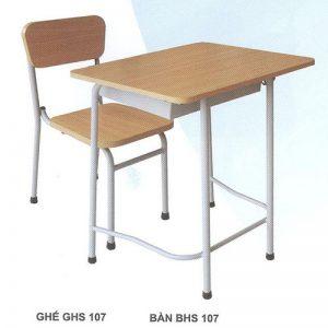 Bàn ghế học sinh  BHS107HP3G